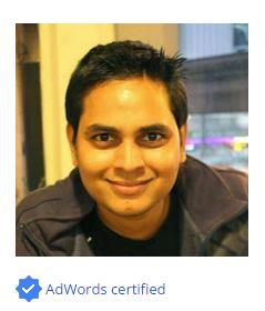 Certifications | SEO Consultant India
